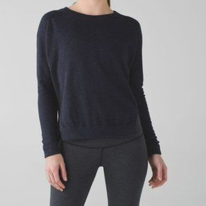 Lululemon bhakti life sweater blue small medium